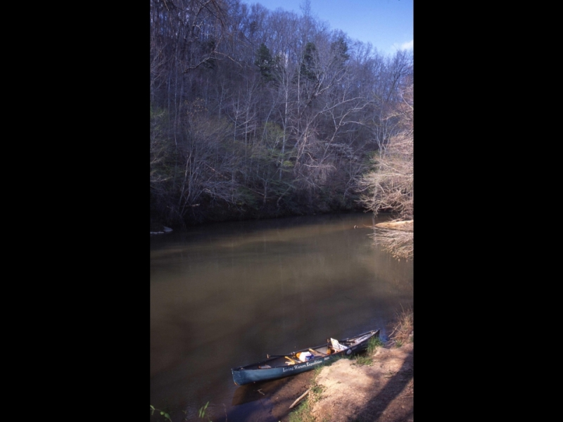 Amicalola_Creek_Mouth